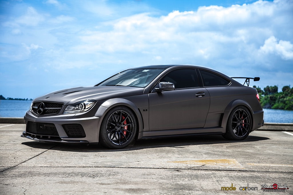 Mode Carbon BLACK SERIES TRACK WING Mercedes-Benz C204 C63 AMG - Boden Visuals
