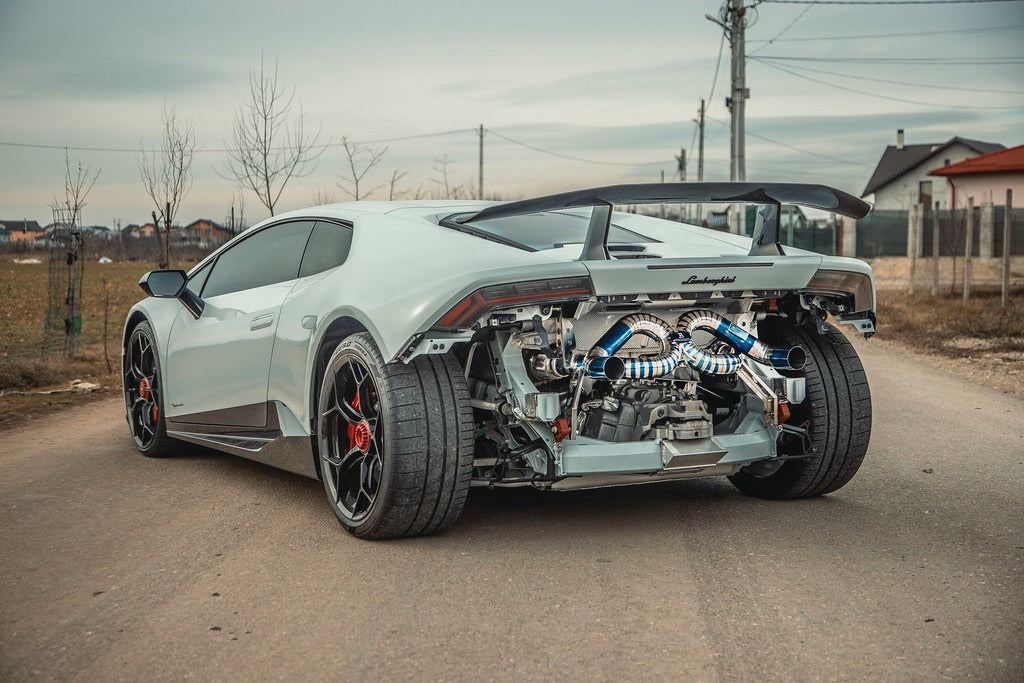RYFT LAMBORGHINI HURACAN PERFORMANTE FIRST EDITION TITAN RACE ABGASANLAGE - Boden Visuals