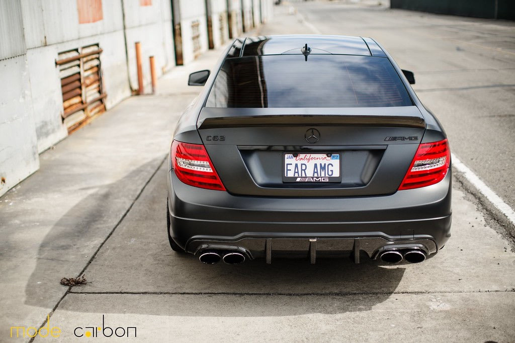 Mode Carbon COUPE BOOTLID SPOILER Mercedes-Benz C204 C63 AMG - Boden Visuals