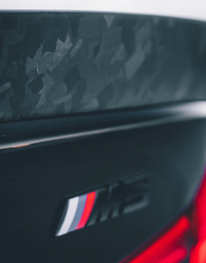 Mode Carbon TROPHY TRUNK SPOILER FORGED CARBON BMW M5 F90 - Boden Visuals