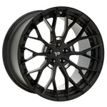 YIDO PERFORMANCE WHEELS | YP 8.2 FORGED | GLOSS BLACK/MATTE BLACK LIP - Boden Visuals