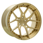 YIDO PERFORMANCE WHEELS | YP 6.2 FORGED | BRUSHED GOLD - Boden Visuals