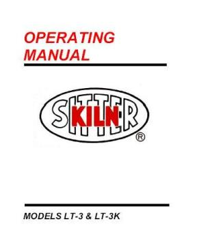kiln sitter LT-3K manual