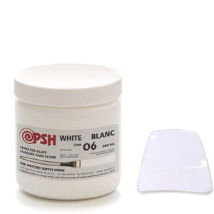 500ml 06 White Gloss Glaze