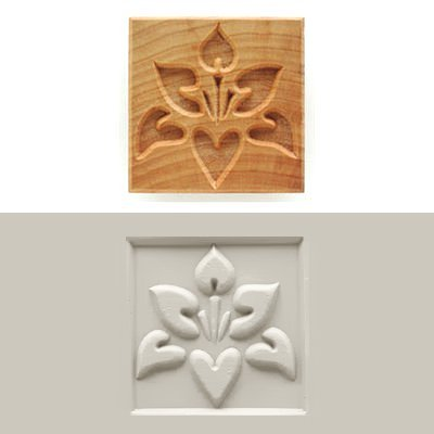 MKM SSL-007 Square Clay Stamp