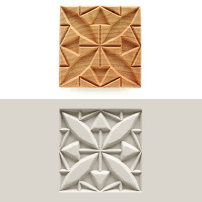 MKM SSL-009 Square Clay Stamp