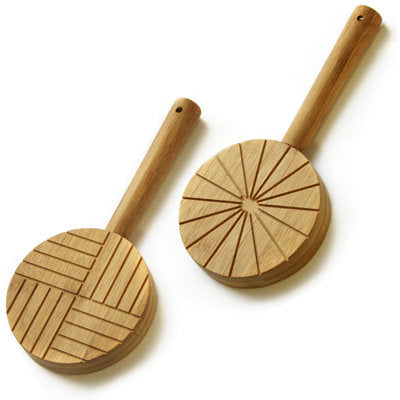 bamboo paddle round head