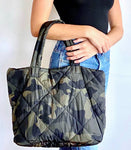 Quilted Camouflage Tote
