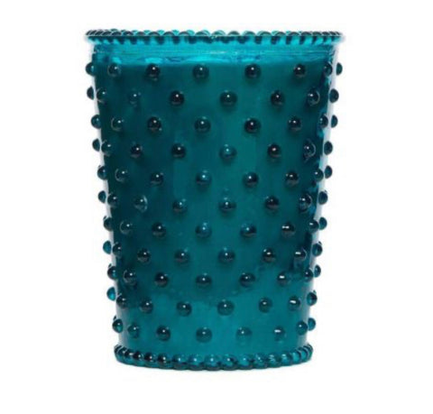 Large Hobnail Scented Candles & Vintage Glassware