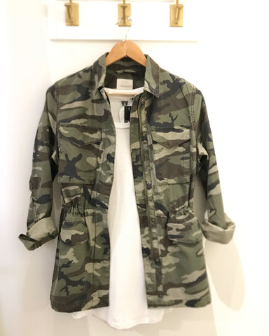 Camouflage Ladies Jacket