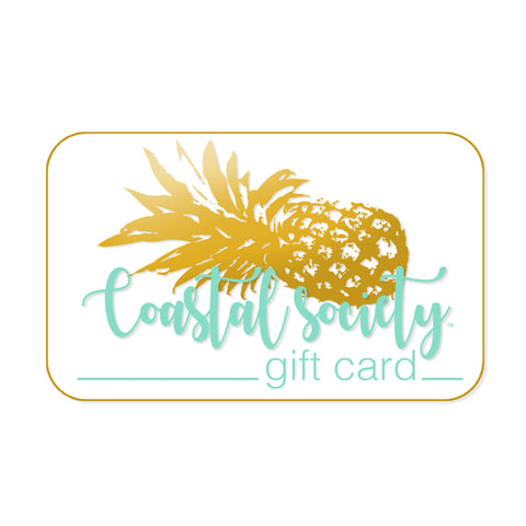 Coastal Society Gift Cards