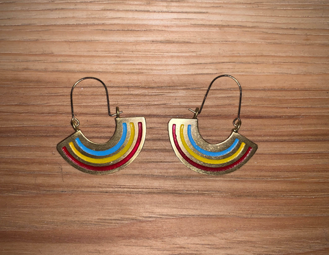 Rainbow Earings