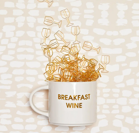 Breakfast Wine Coffee Mug