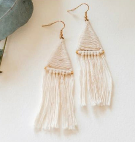 Undaunted Tassel Earrings