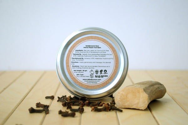 Sandalwood & Clove Foot Balm