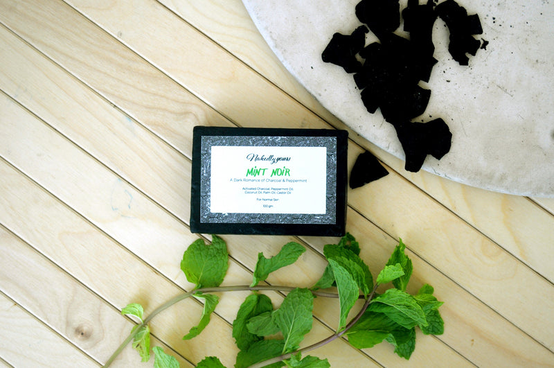 Mint Noir Glycerine Soap