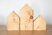 Load image into Gallery viewer, Natural Wood Nesting Houses