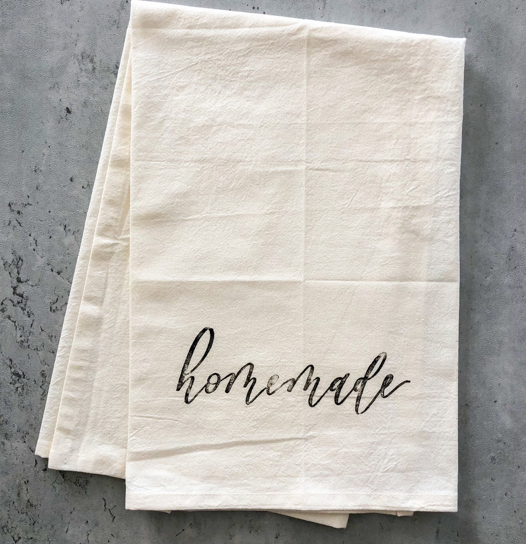 Tea Towel | Homemade