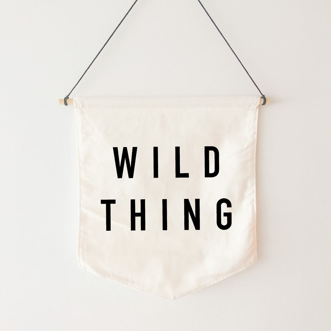 Canvas Banner | Wild Thing