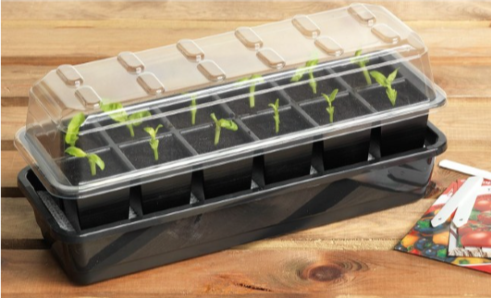 12 Cell Self-Watering Seed Success Kit