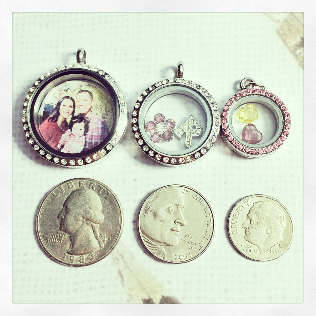 Round Mini Locket