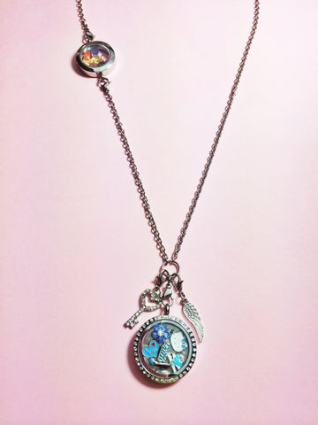 Double Locket Necklace