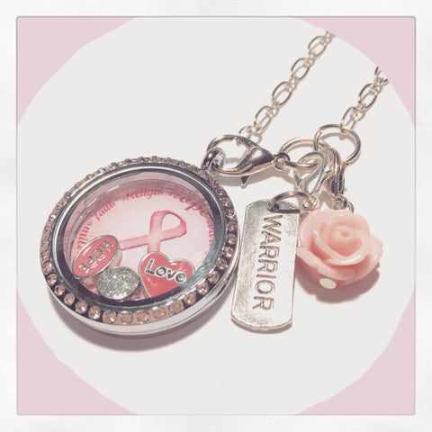 Breast Cancer Complete Locket