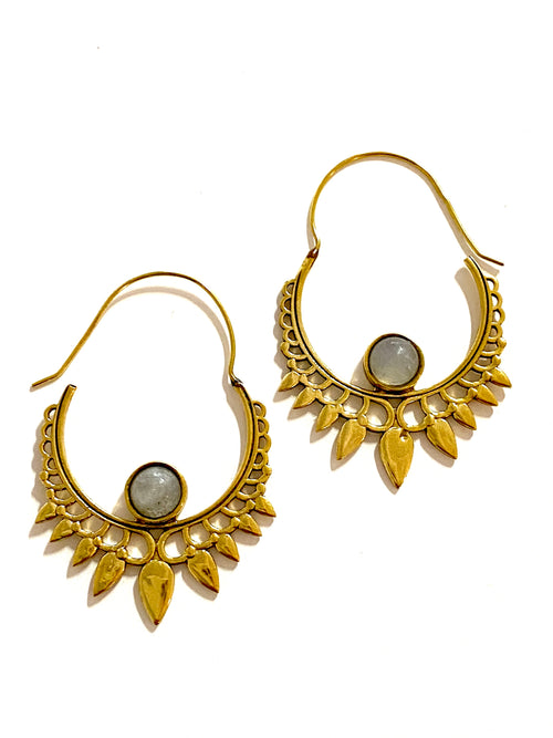 Asha indian Brass Earrings