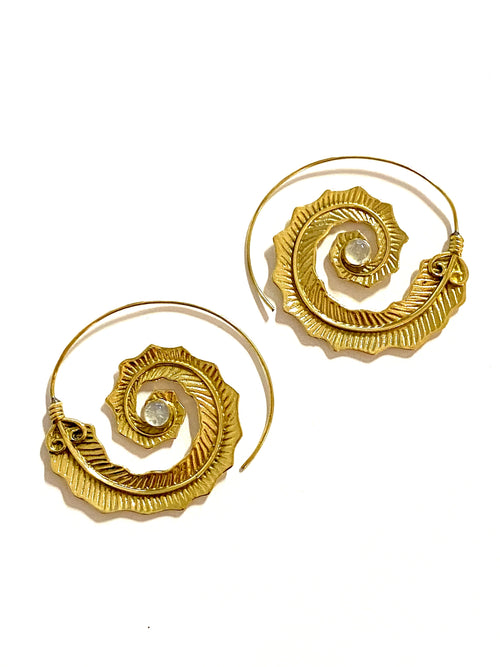 Diwali Brass Earrings