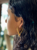 Jahi Brass Earrings