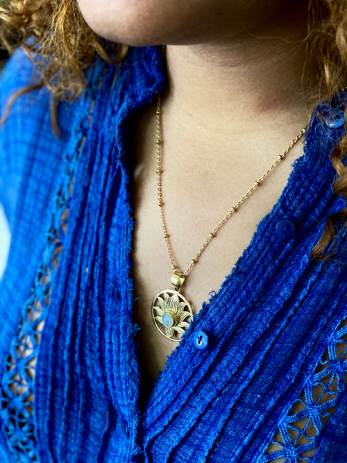 Uma Moonstone Necklace