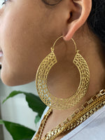 Kajal Brass Earrings