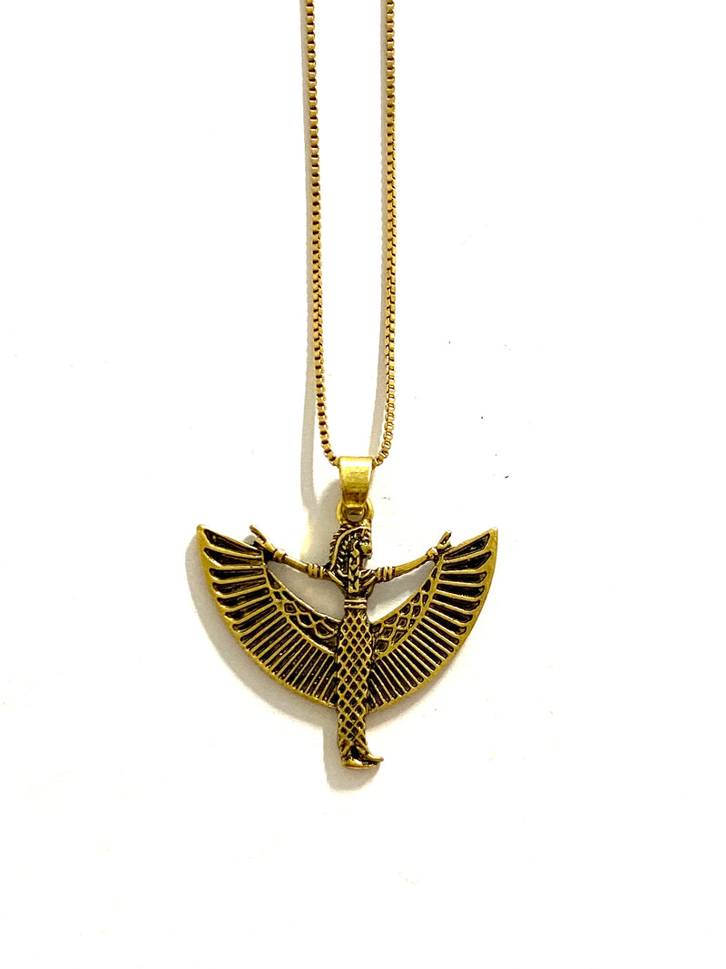 Maat Egyptian Goddess Necklace