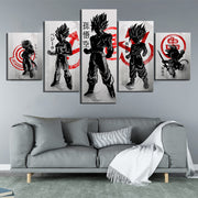Dragon Ball Z Anime Poster Wall Art - AnimePowerStore