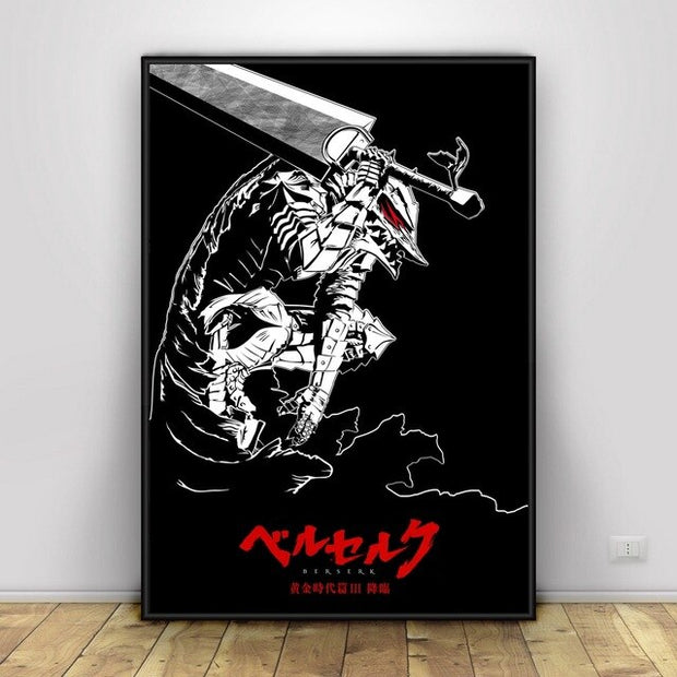 Berserk Anime Silk Poster Wall Art - AnimePowerStore