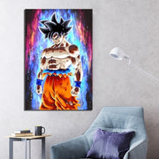 Dragon Ball Goku Canvas Wall Art - AnimePowerStore