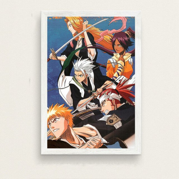 Bleach Anime Poster Silk Wall Art - AnimePowerStore