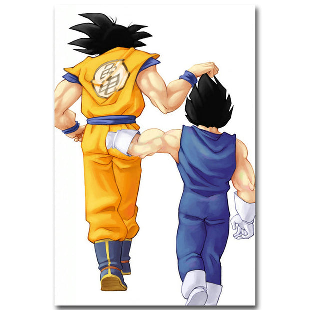 Dragon Ball Z Silk Fabric Poster Wall Art - AnimePowerStore