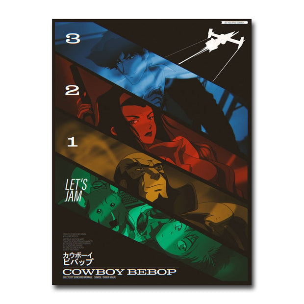 Cowboy Bebop Anime Silk Wall Art - AnimePowerStore