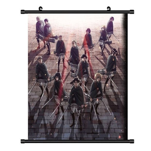 Attack On Titan Anime Scroll Wall Poster - AnimePowerStore