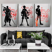 One Piece Anime Poster Wall Art - AnimePowerStore