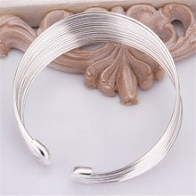 Load image into Gallery viewer, Silver Bracelet - Multi-Line