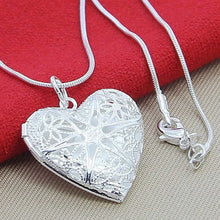 Load image into Gallery viewer, Silver Necklace - Heart