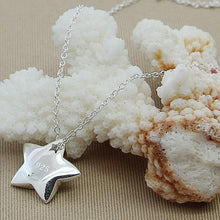 Load image into Gallery viewer, Silver Necklace - Star