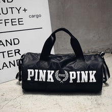 Charger l'image dans la galerie, 2019 New Cheap Sequins Black Gym Bag Women Shoe Compartment Waterproof Sport Bags For Fitness Training Yoga Bolsa Sac De Sport