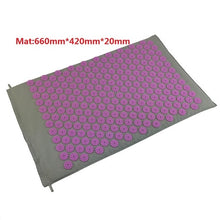 Charger l'image dans la galerie, Massager Cushion Massage Yoga Mat Acupressure Relieve Stress Back Body Pain Spike Mat Acupuncture Massage Yoga Mat with Pillow