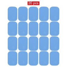 Charger l'image dans la galerie, 48 Pcs Gel Pads For EMS Abdominal Trainer Muscle Stimulator Exerciser Slimming Machine Accessories