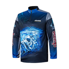 Charger l'image dans la galerie, Original OKUMA Fishing Clothes Fishing Shirt Fishing Jerseys Breathable Sweat-absorbing Sunscreen Outdoor Sport