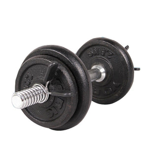 Barbell Gym Weight Bar Dumbbell Lock Clamp Collar Clips indoor use trainning fitness 2Pcs 25mm