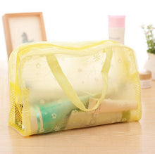 Charger l'image dans la galerie, 5 Colors Swimming Bags Sports Travel Bathing Storage Bag Women Transparent Organizer PVC Phone Pocket